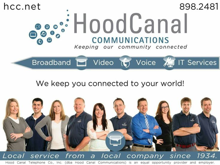 #HoodCanalCommunications is the leading provider of voice, video, data and customer service on #HoodCanal and one of our featured sponsors for The Traveler 5.5K Run/Walk! Stay connected with #HCC and #BeTheTraveler on April 22nd - visit hoodcanalevents.com for event details and registration #5K #PNW #UpperLeftUSA
