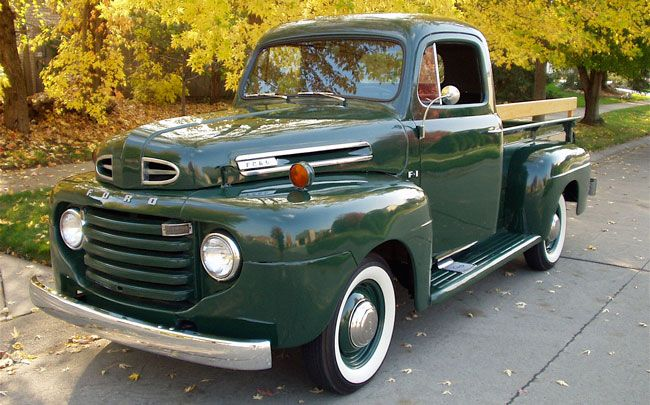 Jerry Drenzek can't pinpoint exactly what it is about his 1948 Ford F-1 pickup that trips his trigger, it's more a conglomeration of personality traits that makes it so appealing.