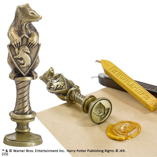 Harry Potter Siegelstempel Hufflepuff 10 cm  Harry Potter - Siegelstempel - Hadesflamme - Merchandise - Onlineshop für alles was das (Fan) Herz begehrt!
