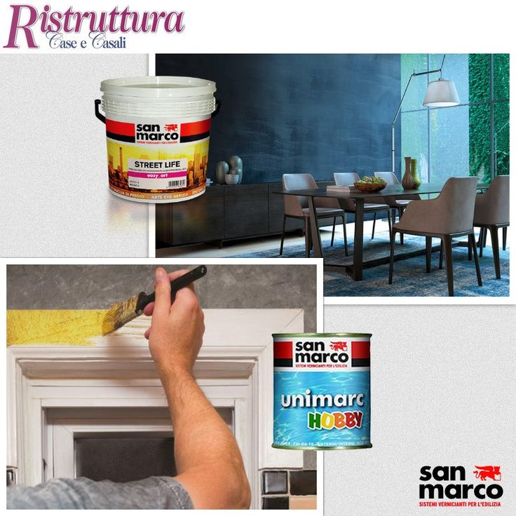"""Our press release is always updated! One of the latest contributions is signed by """"Ristruttura Case E Casali"""" where the protagonists are once again the decorative finish EASY ART and new metal colors UNIMARC HOBBY, useful and practical solutions for the """"do it yourself"""" at home >> www.san-marco.com/eng/press-room/ #RassegnaStampa #PressRoom"""