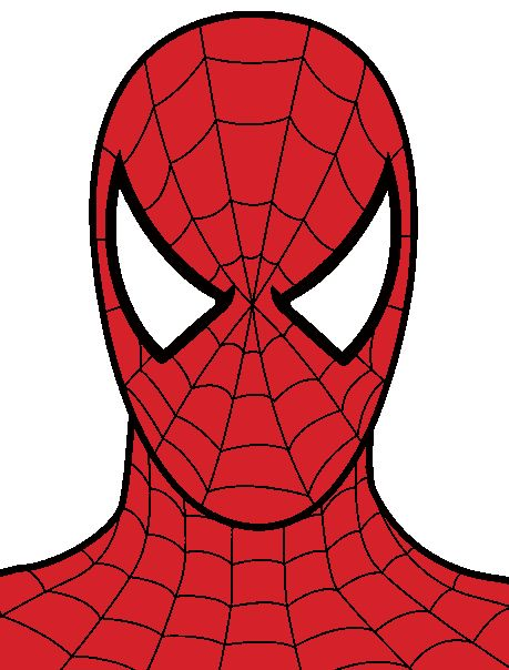 spiderman clipart for favor bags