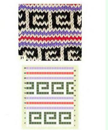 lazy jacquard pattern