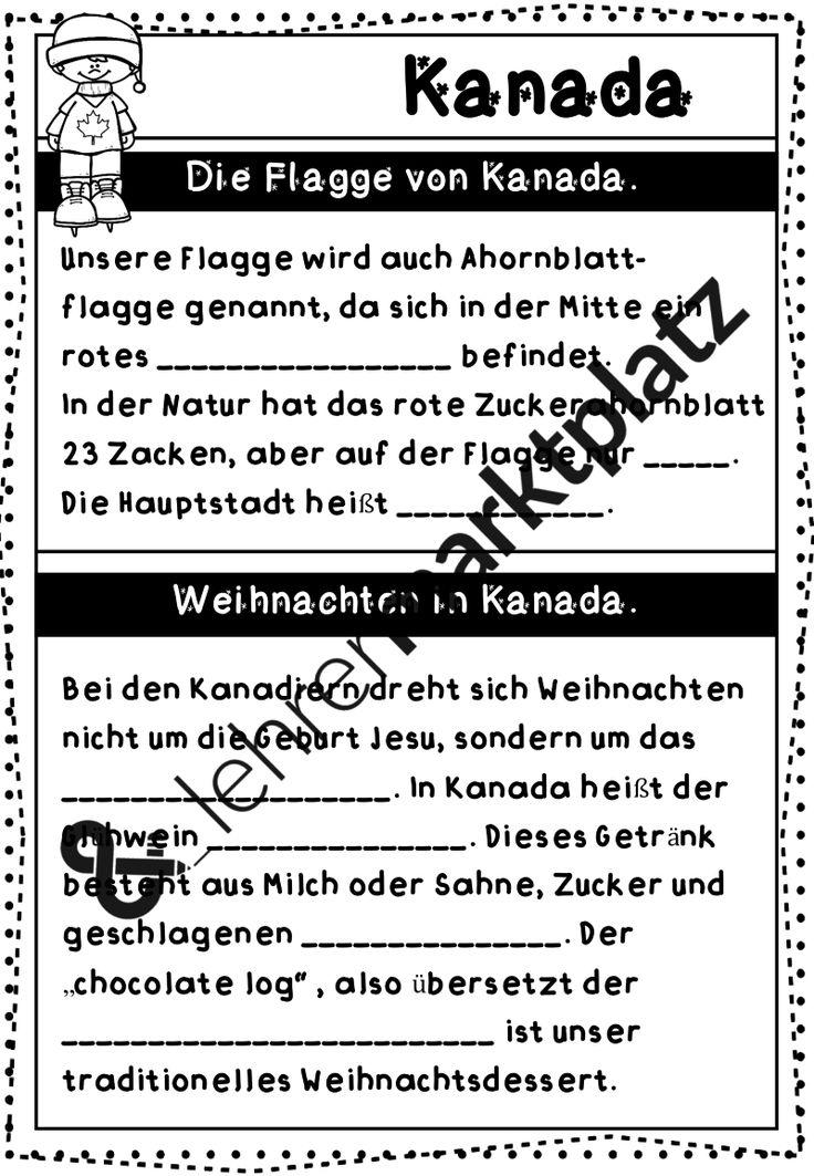 Niedlich Kanada Arbeitsblatt Galerie - Arbeitsblätter für ...