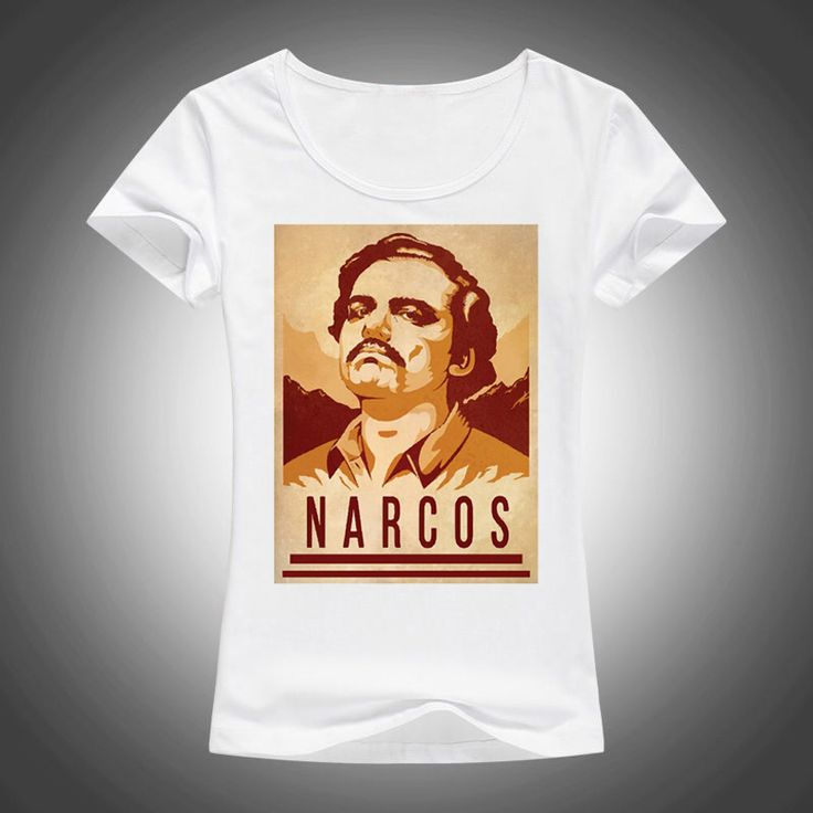 >> Click to Buy << 2017 New Funny narcos Pablo Escobar tshirt Women summer Casual shirts For Lady fashion harajuku female t-shirt kawaii punk tops #Affiliate