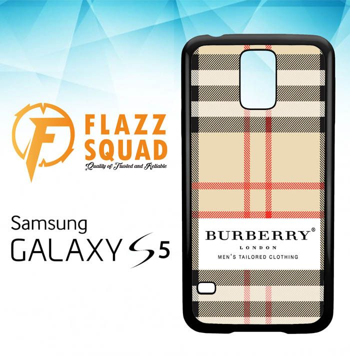 Burberry Phone Case For Samsung Galaxy S5