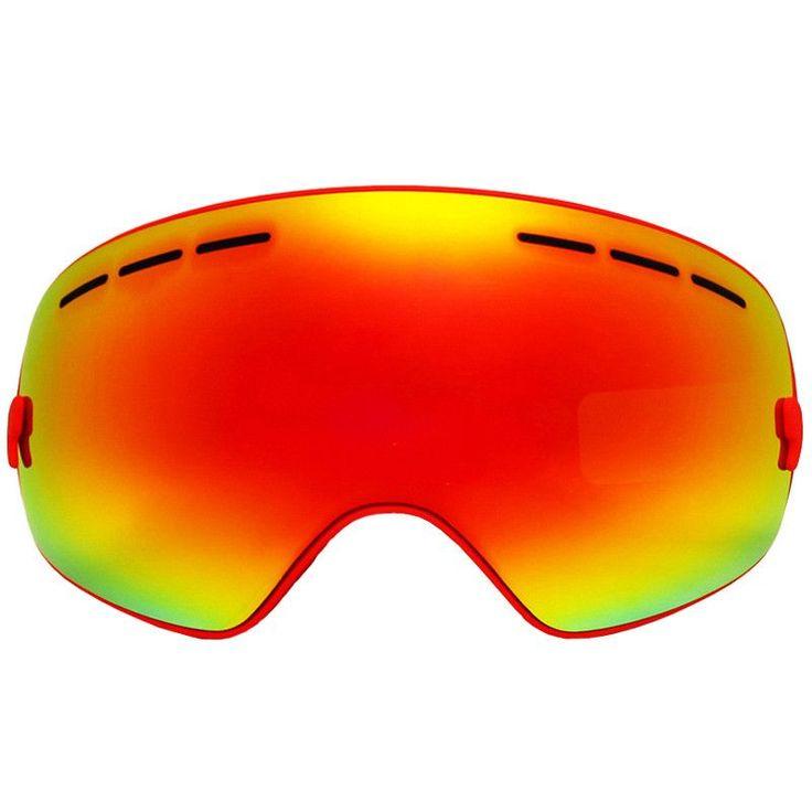 LOCLE Ski Goggles Double Lens Anti-fog UV 400 Ski Glasses Men Women Skiing Snowboard Skateboard Snow Motocross Goggles