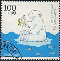 The Little Polar Bear (German: Der kleine Eisbär) is a franchise about a Polar Bear cub named Lars who first starred in a number of books written by Dutch author, Hans de Beer.