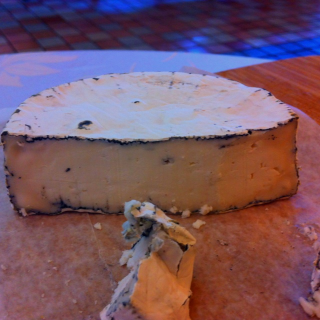 Nanny noir goat cheese from upper Canada cheese company in Jordan Ontario