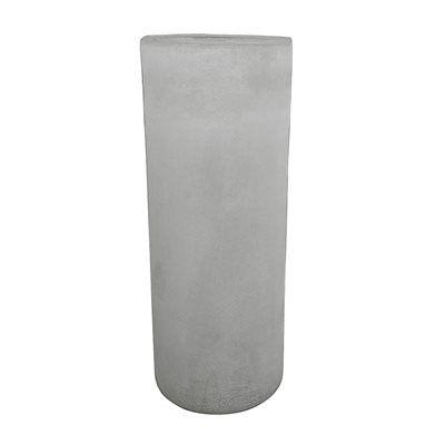 allen + roth 12-in H Glass Hurricane Outdoor Decorative Lantern