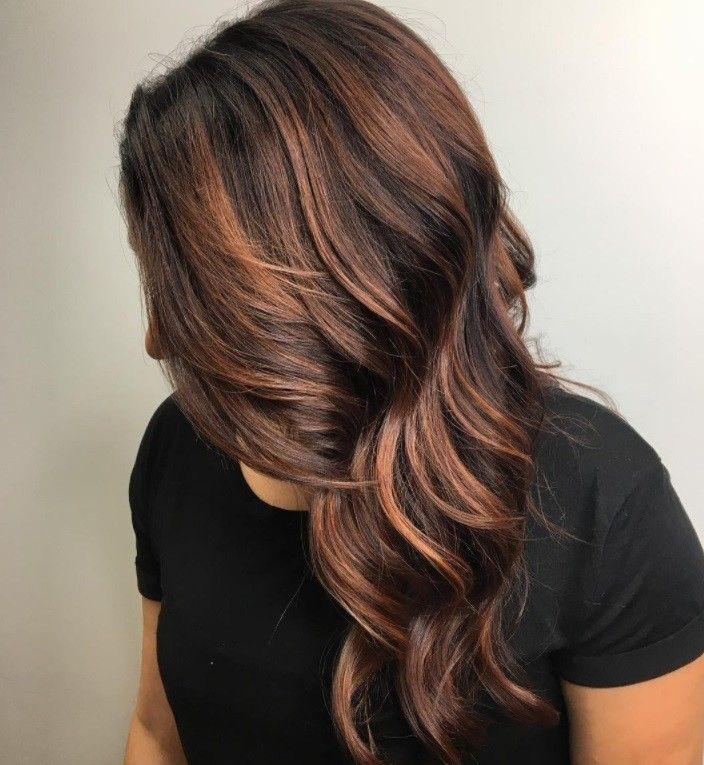 cinnamon hair colors ideas