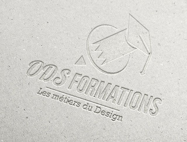 ODS Formations Logo Concept. #Logo #identitévisuelle #schoollogo #GraphicDesign #logoinspiration