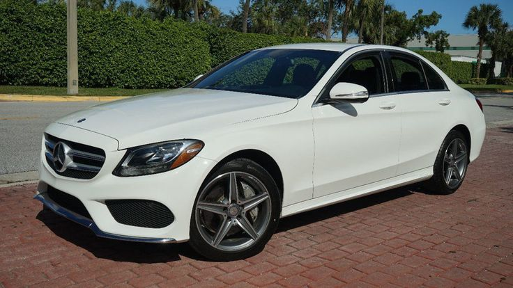 """Nice Awesome 2015 Mercedes-Benz C-Class C300 4MATIC 18"""" AMG WHEELS BLIND SPOT ASSISTANCE!! CLEAN CARFAX PREVIOUSLY CERTIFIED GREAT SERVICE RECORDS FLORIDA CAR!!!!!!!!!!!!! 2017-18"""