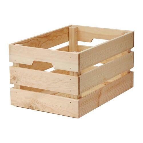 KNAGGLIG Box, Kiefer Kiefer 46x31x25 cm   – Room