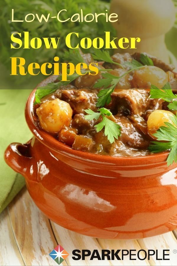 Low-Calorie Slow Cooker Recipes. Meet the best of both worlds--meals both low in calories AND made in the slow cooker? Jackpot!  | via @SparkPeople