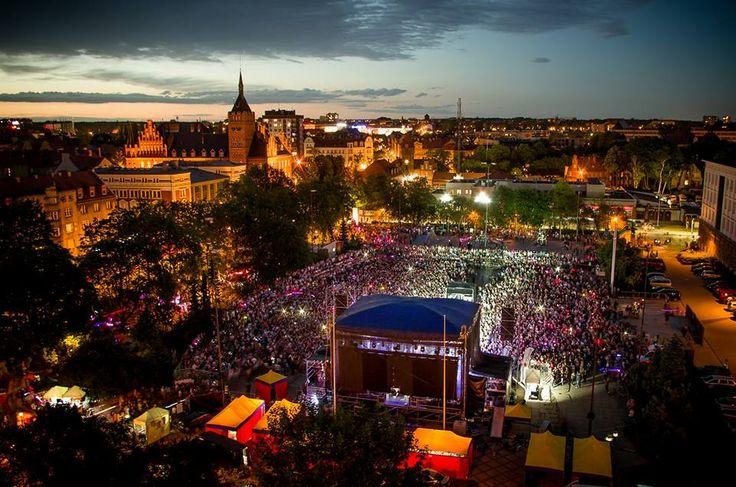 Plac Krakowski. Noc Świętojańska 2017