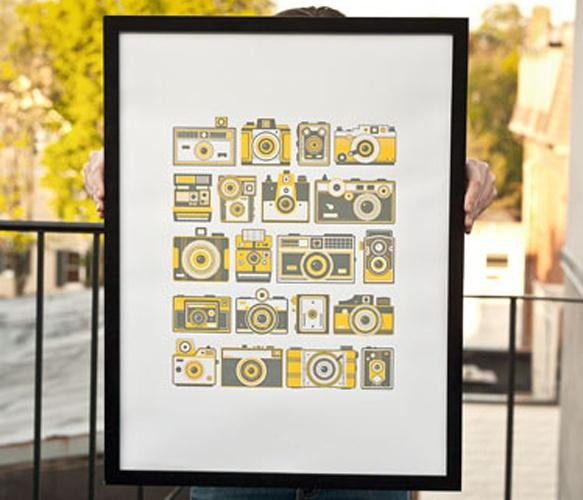 love it! - Retro Camera Poster