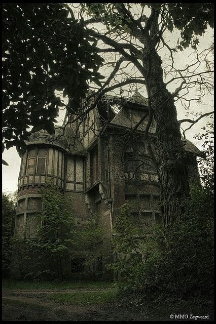 Creepy house. How I would love to live in it!