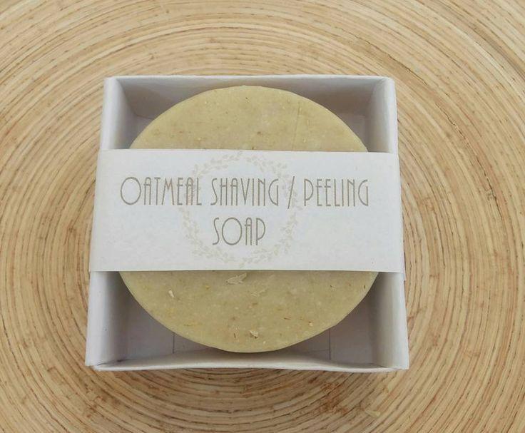 Oatmeal shaving /peeling soap