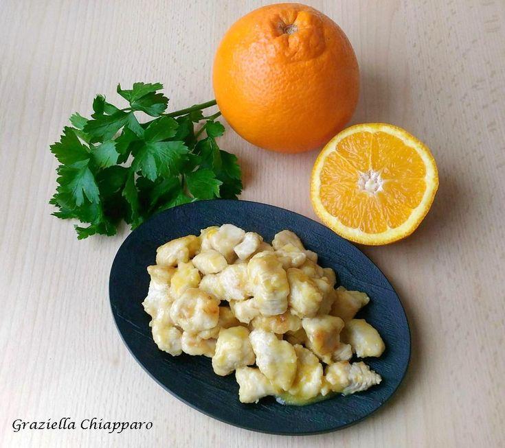 Pollo+all'arancia+|+Ricetta+veloce