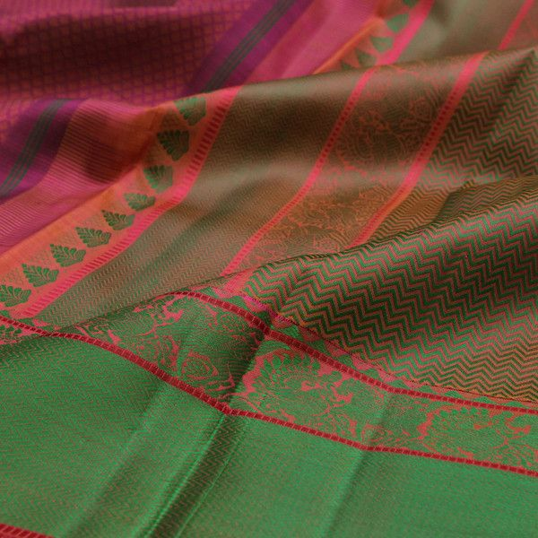 Sarangi Handwoven Kanjivaram Silk Saree - 180127308 | Sarangi * Feel Beautiful