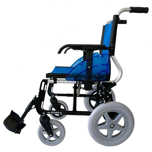 SILLA DE RUEDAS DE ALUMINIO PLEGABLE - REF: LINE R-300: Pesa tan sólo 12,5 kg. Fabricada en aluminio sin ninguna soldadura. Plegable. Diversos colores.