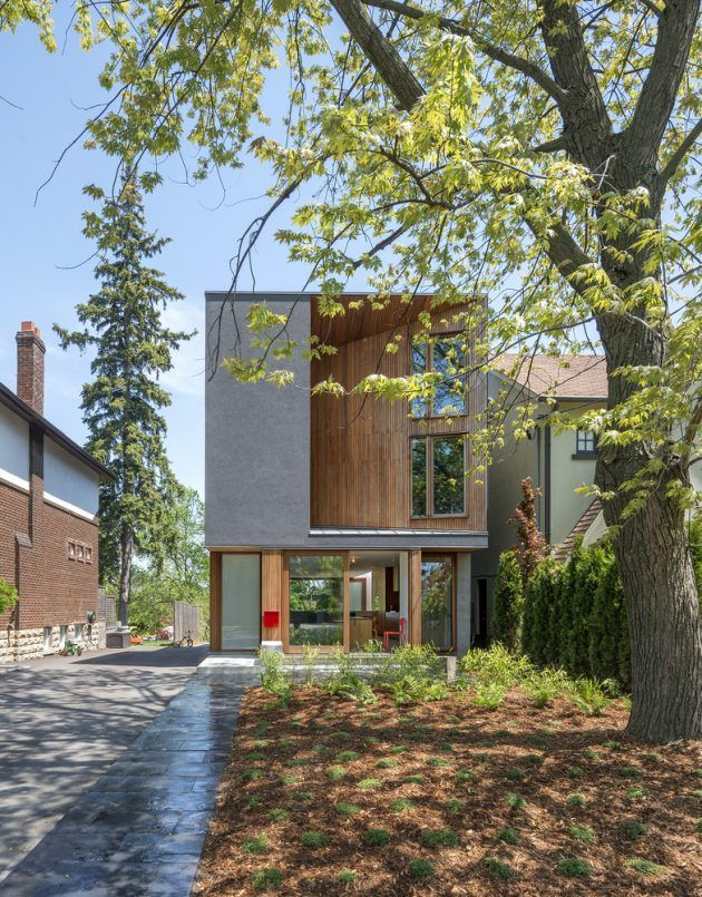 Bala Line House by Williamson Chong Architects in Toronto, Canada - http://homedesignfind.press/bala-line-house-by-williamson-chong-architects-in-toronto-canada/