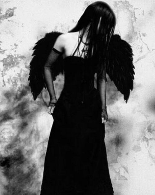 Pretty dark angel.