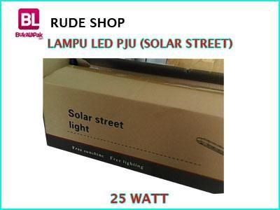 #jual #Lampu Solar #LED PJU atau Lampu Penerangan Jalan Solar Light 25 Watt harga #murah dan terjangkau