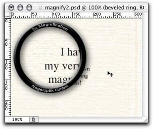 Creating a Magnifying Glass Effect in Photoshop | Art