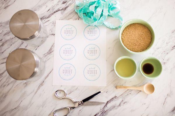Una buena solución de bellezade detalles para bodas hechos a mano un exfolian casero y estos son sus ingredientes!!