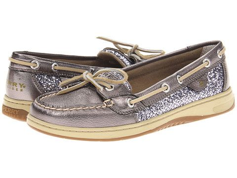 size 10   Sperry Top-Sider Angelfish Pewter/Charcoal Glitter - Zappos.com Free Shipping BOTH Ways