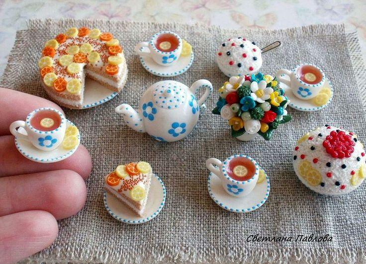 Thee met taart