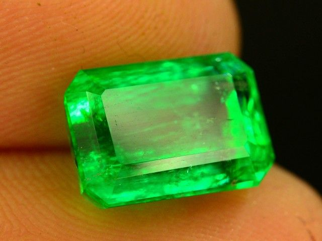 3.75 ct Natural Untreated Stunning Panjshir Emerald ~