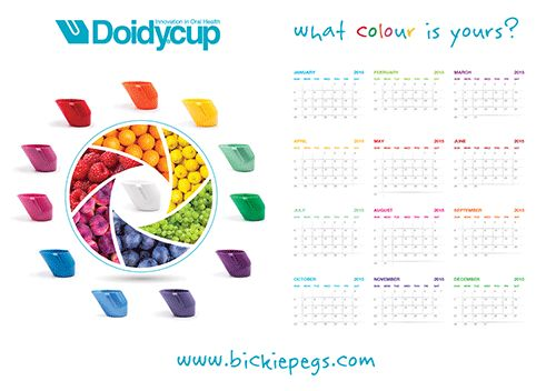 Doidy Cups come in 17 colours which means you can have one for each month of the year and enough spare for friends.