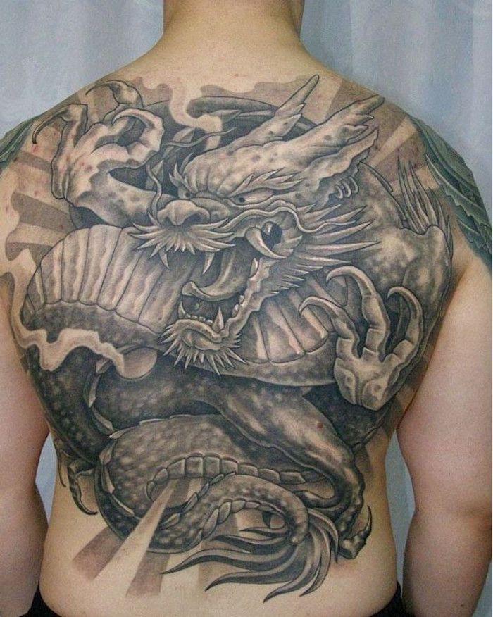 Tatouage Dragon Japonais Mythologie Et Puissance Tattoo