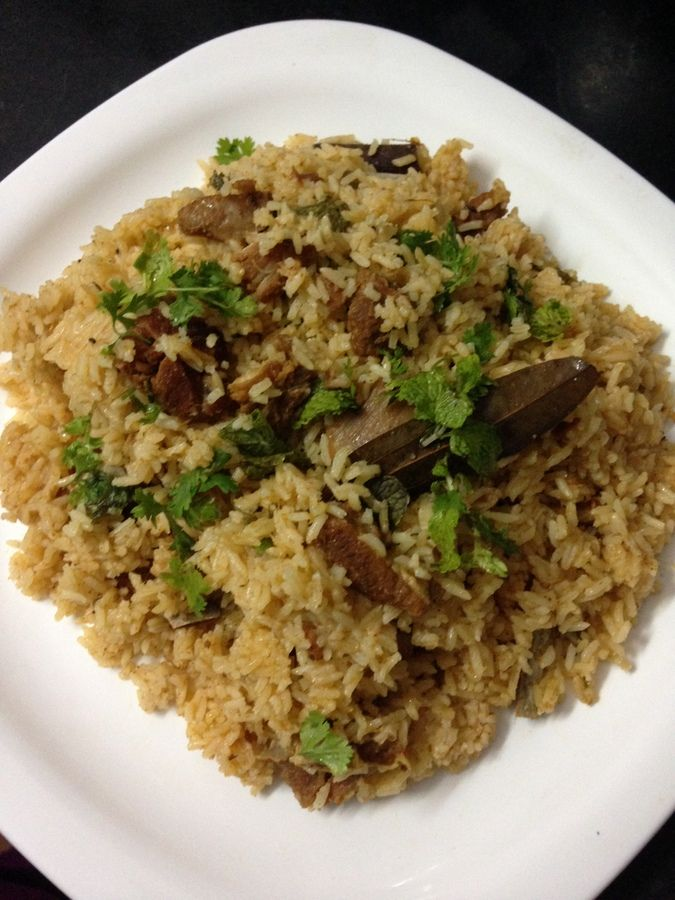 Mutton Pulao Recipe is an amazing pulao recipe made with mutton and rice. This is one of my favorite rice recipes. #meatrecipes #dinnerideas #recipes #indianfood