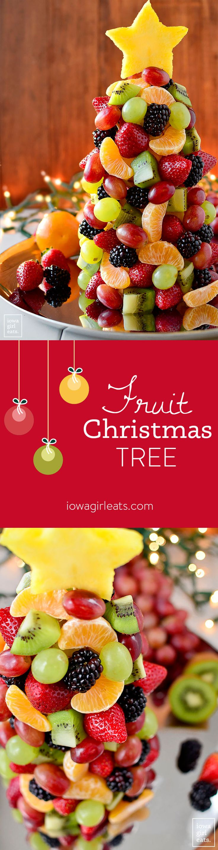 Christmas dessert table decoration ideas - Fruit Christmas Tree Fruit Christmas Treetable Centerpiecesholiday Traditionsfruit Plattersdessert