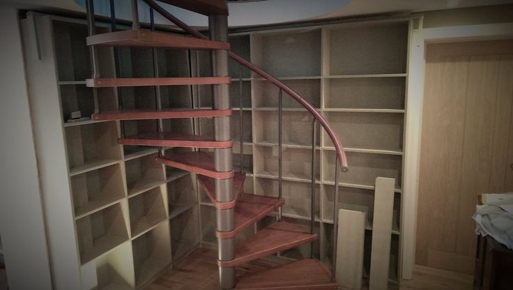 We can design and create bookcases, wine racks, cupboards and tables. This example is an MRMDF bookcase designed and made to fit behind a spiral staircase. ‪#‎bookcase‬ ‪#‎spiralstaircase‬ ‪#‎MRMDF‬ ‪#‎bespokebookcase‬ ‪#‎rconcepts‬