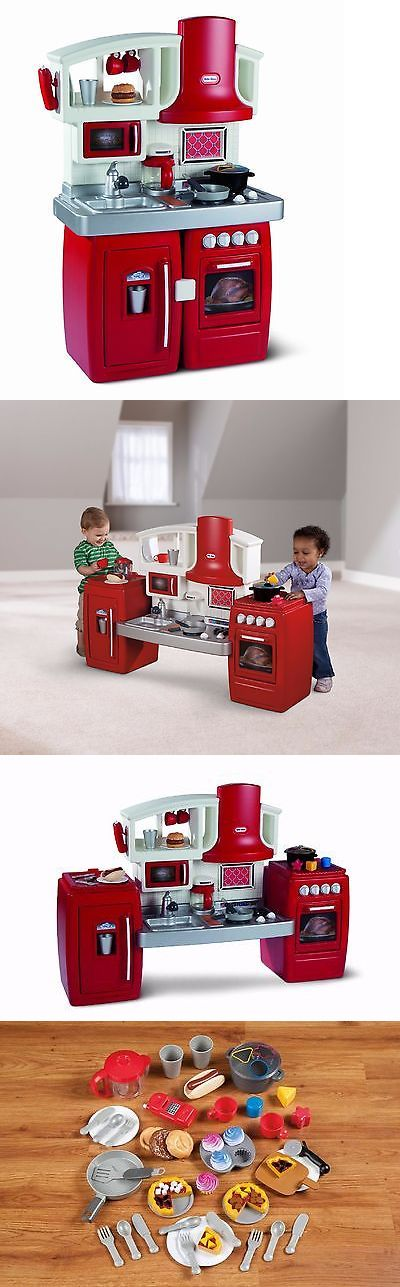 Child Size 2574: Play Kitchen For Toddlers Food And Accessories Little Tikes Imaginative Play Gift -> BUY IT NOW ONLY: $113.99 on eBay!