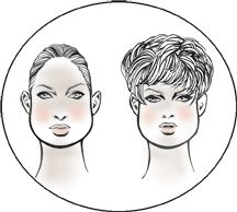 Face Shapes Explained By E-Wigs.com
