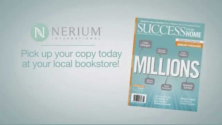 Learn about Nerium's Success in Success from Home Magazine. Join us: www.TheJackson5.aRealBreakThrough.com