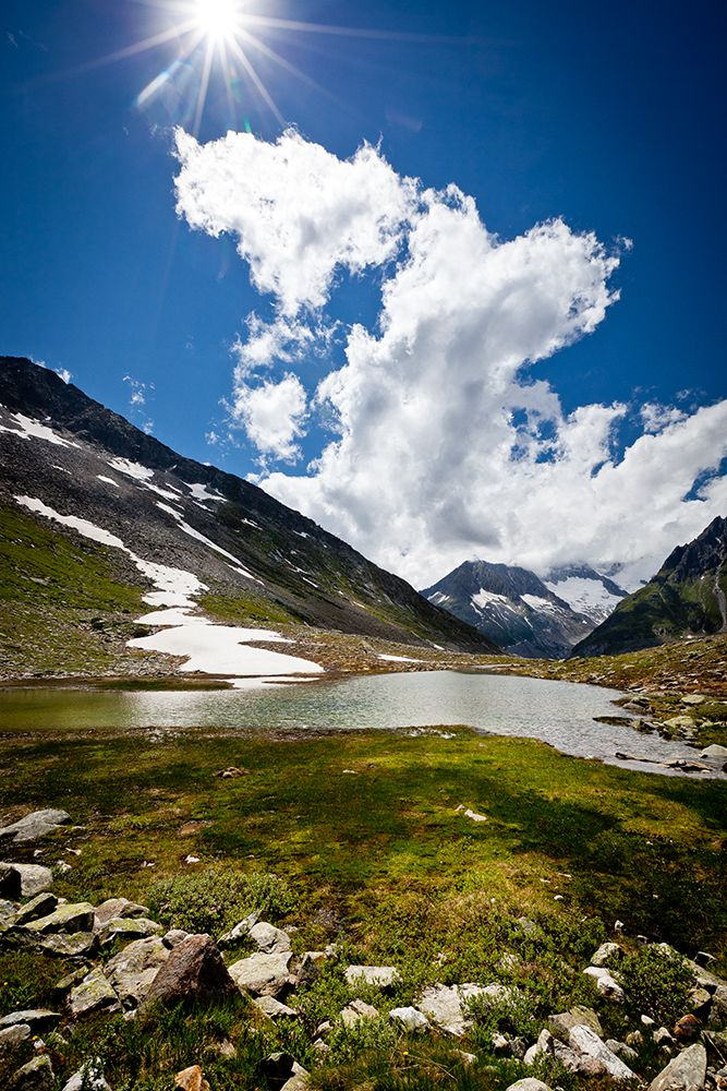 Märjelensee near Aletsch Glacier, Canton of Valais, Switzerland