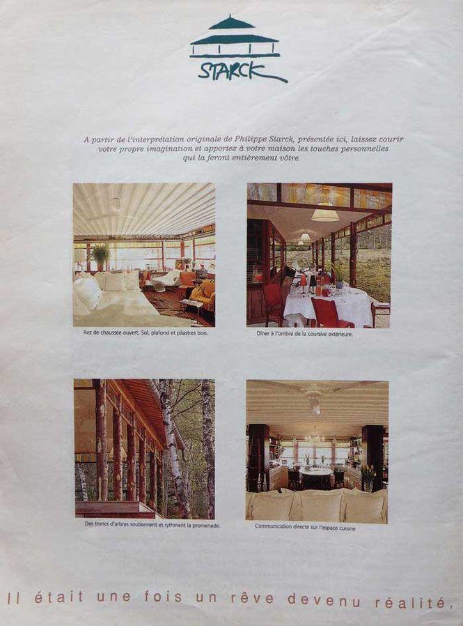 72 best maison 3 suisses en bois dessin e par starck. Black Bedroom Furniture Sets. Home Design Ideas