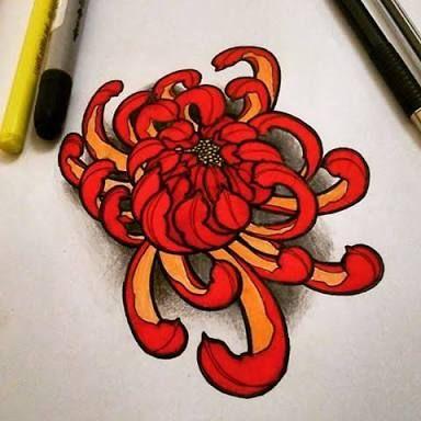 """crisantemo tattoo""的图片搜索结果"