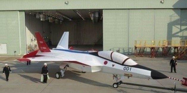 Mitsubishi airplane.