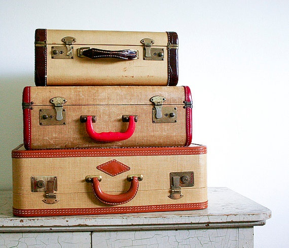 192 best Vintage leather suitcase images on Pinterest | Vintage ...