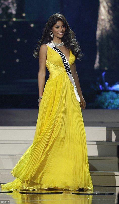 Miss Netherlands Yasmin Verheijen...