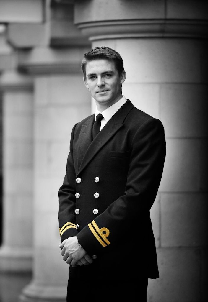 Pete Reed is an officer in the British royal navy and will row for Great Britain at the Olympics.