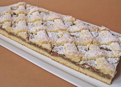 Citromhab: Rácsos diós sütemény