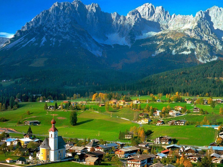 Austria....wowsa, I would love to go there, but I might never leave!